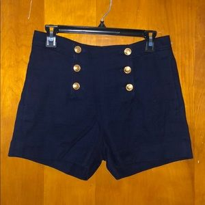 Banana republic high-waisted shorts